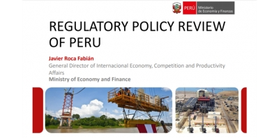 MEF. Regulatory Policy Review of Peru 2016