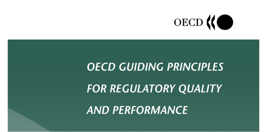 Guiding Principles for Regulatory Quality and Performance 2005