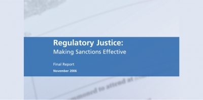 Macrory Report. Making sanctions effective 2006